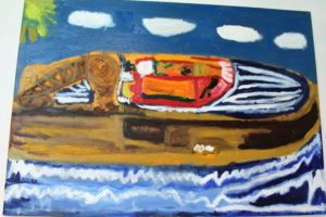 Newlyn Harbour by Sam While