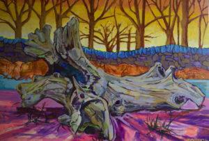Fallen at Bradgate by Paul Dexter