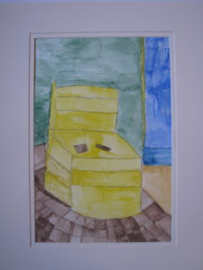 Yellow Chair by James Stratton