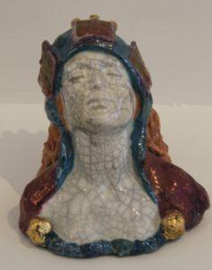 small female head by Athol Tufnell