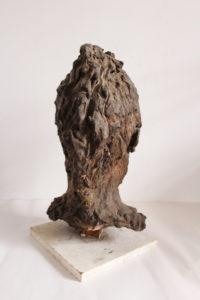 Head of Louise (back view) by Julie  Fiera