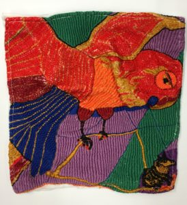 Embroidery by Cecilia Montague 2 by Cecilia Montague