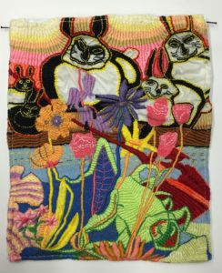 Embroidery by Cecilia Montague 1 by Cecilia Montague
