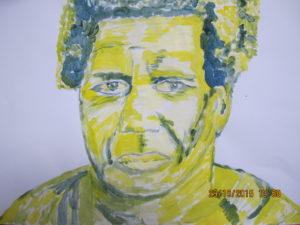 Unknown portrait by Joy Turner