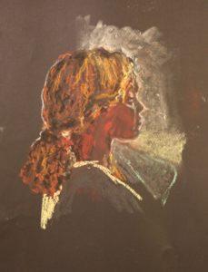 portrait of deqa by Athol Tufnell