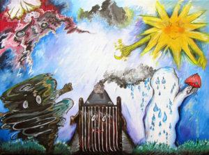 Weather creatures by Jasmine Surreal