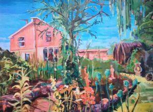 My Art Tutors House by Paul Dexter
