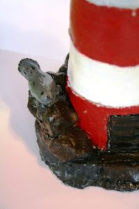 lighthouse (detail) by paula parry