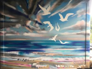 Scarborough Sea and Sky by Paul Dexter