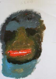 Painting by Sean McManus