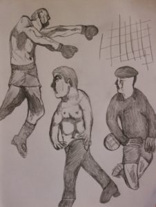 Drawing by Sean McManus