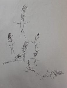Dancing People by Niam Habergham