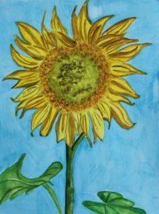 Sunflower by Jacqueline  Herbert