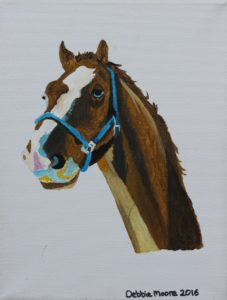 Thoughtful Horse by Debbie Moore