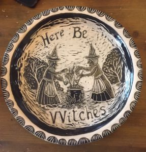 Here Be Witches by Elle Isolde