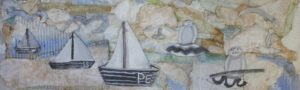 Seascape Relief by Claire Louise