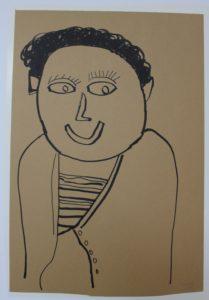 Self Portrait by Tina Kelly