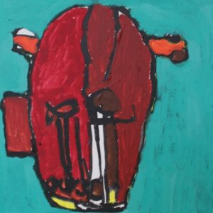 Cello/Red Mask by Stephen Canby