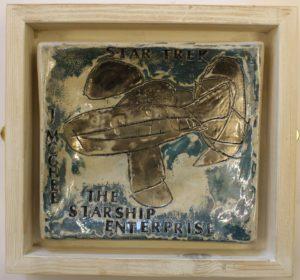 The Starship Enterprise by Jonathan  McGhee