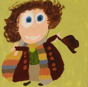 Tom Baker by Jonathan  McGhee