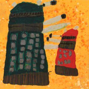 Daleks by Jonathan  McGhee