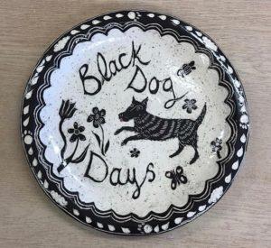 Black Dog Days by Elle Isolde