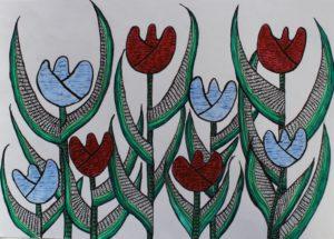 Dutch Tulips by arlene c