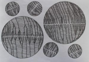 Brain Cells Dividing by arlene c