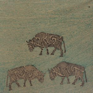 Three Chillingham Bulls by arlene c