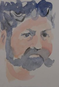 portrait of Gary by Louise Alexander