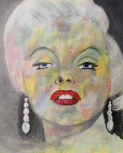 Coloured Marilyn by Lenny Jordan Blinding Art