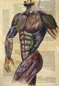 Body Art by Lenny Jordan Blinding Art