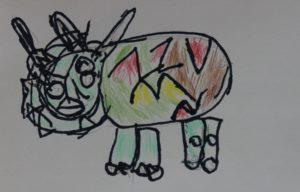 Dinosaur by Leighton Beagles