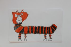 A  ginger Cat 2 by Raphael (Teenage Mutant Ninja  Turtles)