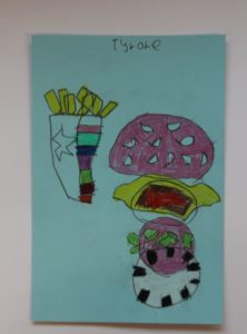 Burger & Chips by Raphael (Teenage Mutant Ninja  Turtles)