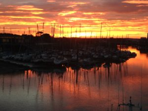 Sunset Littlehampton 1 by LINX Pics