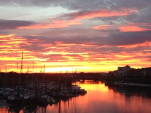 Sunset Littlehampton 2 by LINX Pics
