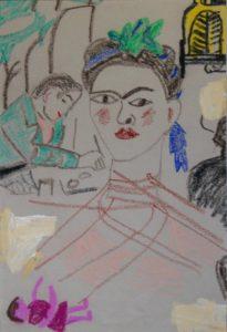 Frida Kahlo and Edward Burra by Sally van der Westhuizen