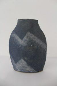 Stripey Pot by Julie Allen