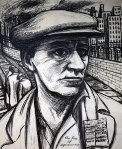 Unemployed Miner by Maureen Scott
