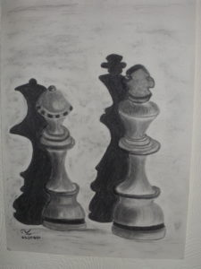 Your move . . . by Jim Scanlan