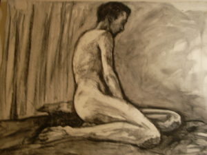 Life Drawing by Kyla Dante
