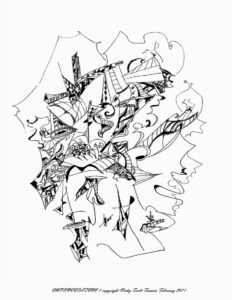 IMPROVISATION by Automatic Biro Art