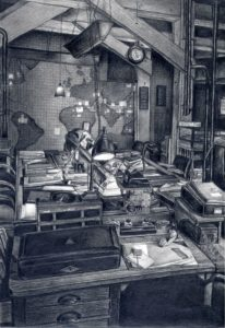 inside_winston_war_cabinet_museium_2011 by Alan Ramdhan