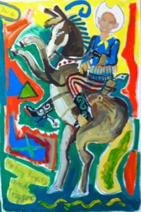 Roy Rogers and Trigger 2012 by David Webster