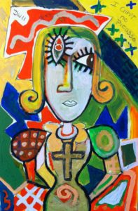 I ain't no Picasso 2012 by David Webster