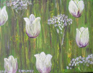 White Tulips by Irina Holmes