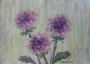 Chrysanthemums by Irina Holmes