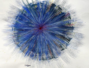 Triptych 'Spring Light' (Detail) by Irina Holmes