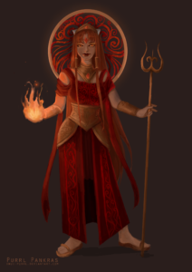 Queen of fire by Libby Durose